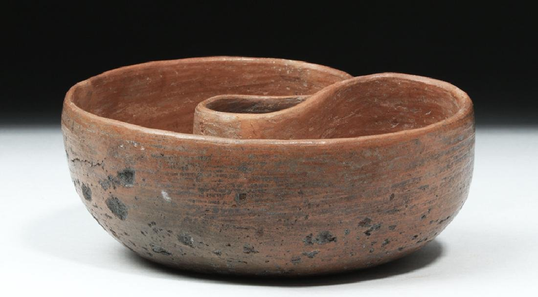 Paracas Pottery Bowl, Double-Headed Snake - 6