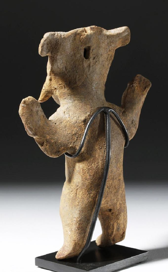 Pre-Columbian Veracruz Terracotta Sonriente Figure - 2