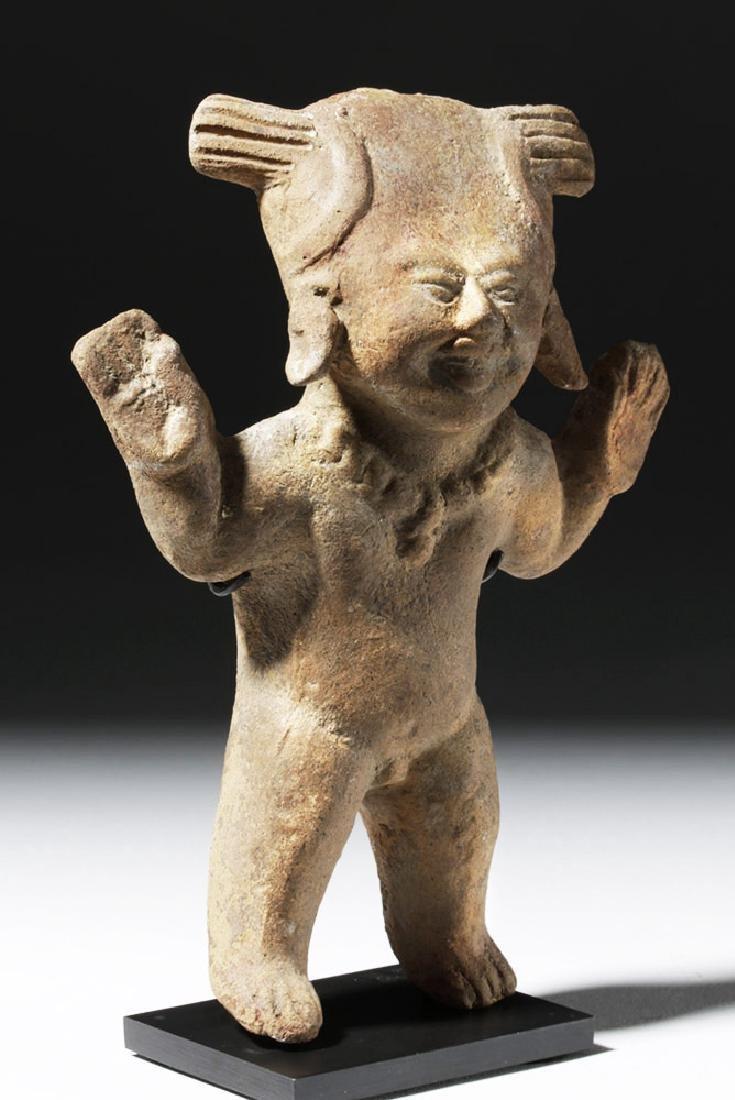 Pre-Columbian Veracruz Terracotta Sonriente Figure - 4