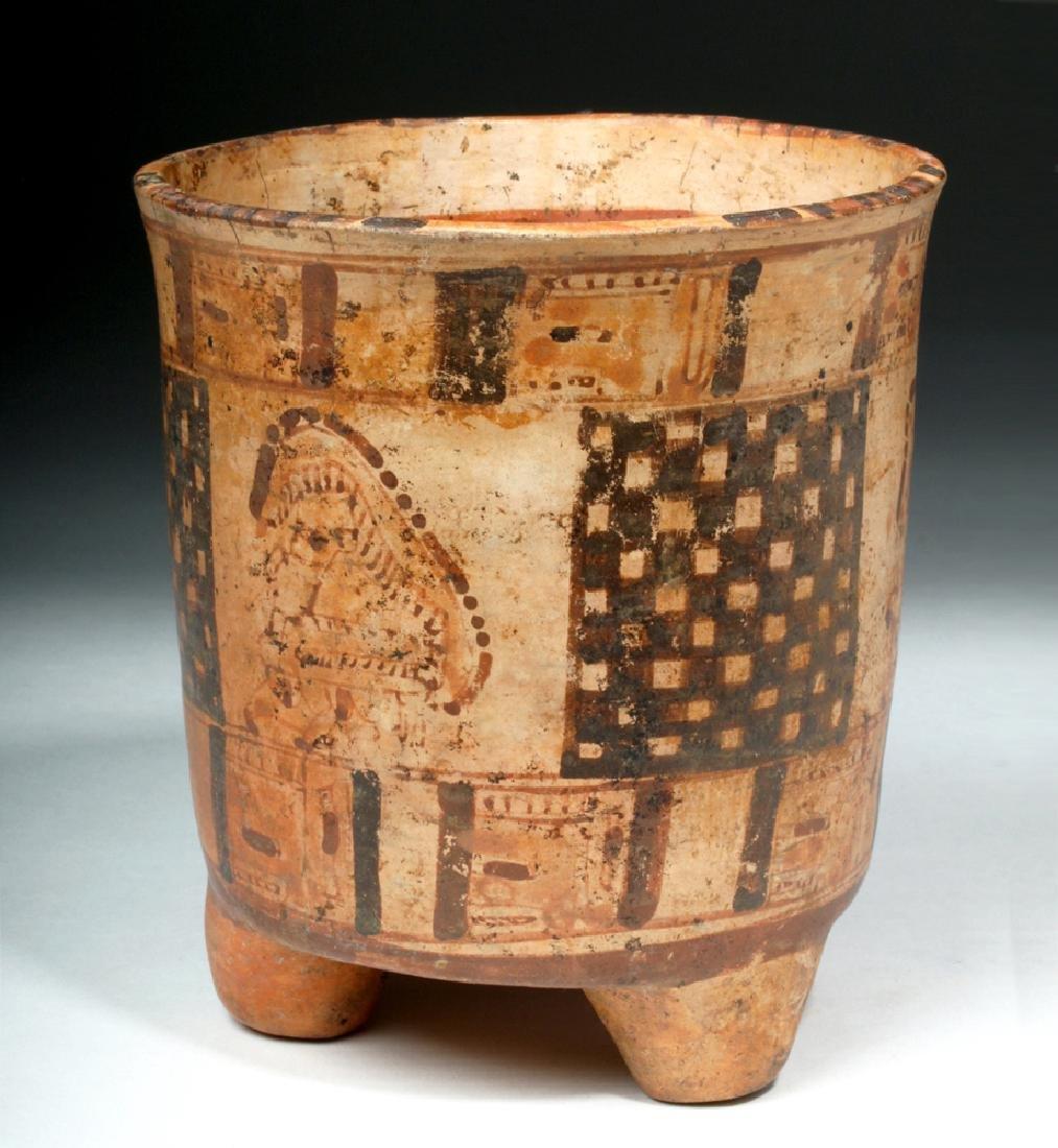 Mayan Rattle-Legged Tripod Cylinder - Lords