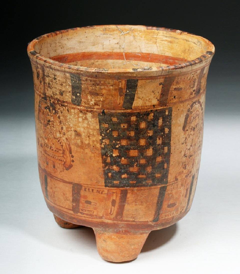 Mayan Rattle-Legged Tripod Cylinder - Lords - 2