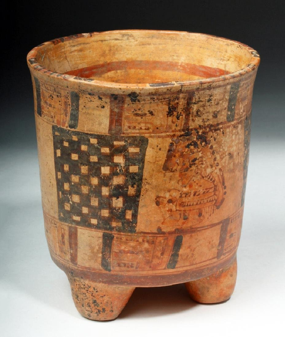 Mayan Rattle-Legged Tripod Cylinder - Lords - 3