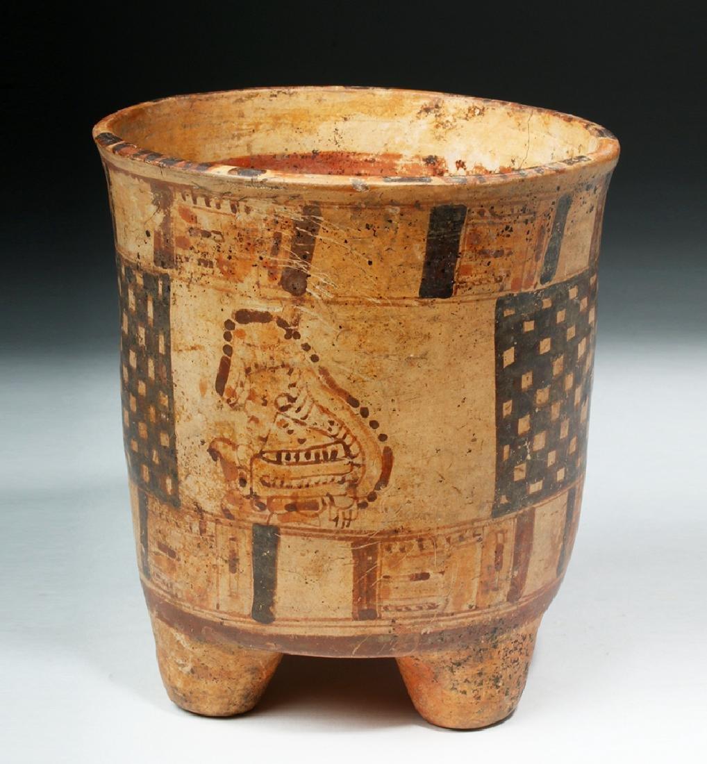 Mayan Rattle-Legged Tripod Cylinder - Lords - 4