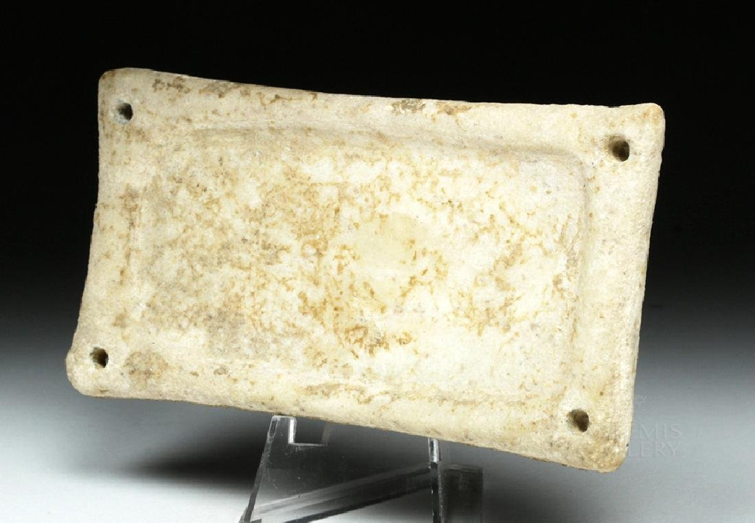 Rare Cycladic Marble Palette / Dish, ex-Sotheby's - 2