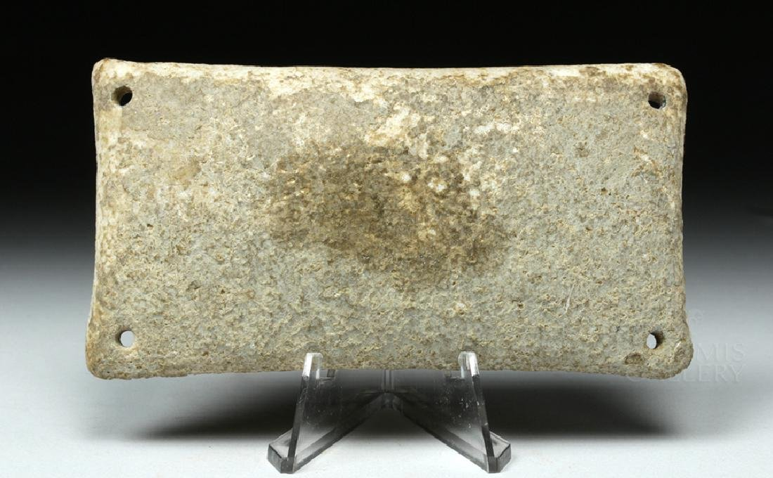 Rare Cycladic Marble Palette / Dish, ex-Sotheby's - 4