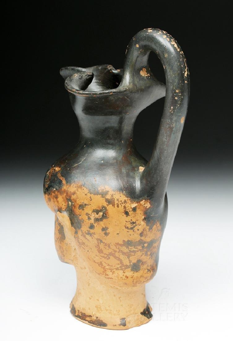 Greek Attic Figural Oinochoe Depicting Herakles - 5