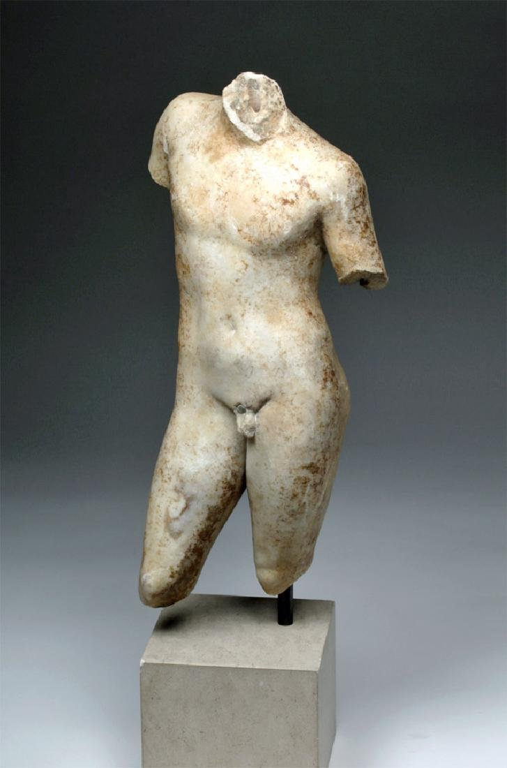 Superb Roman Marble of Nude Eros - 2