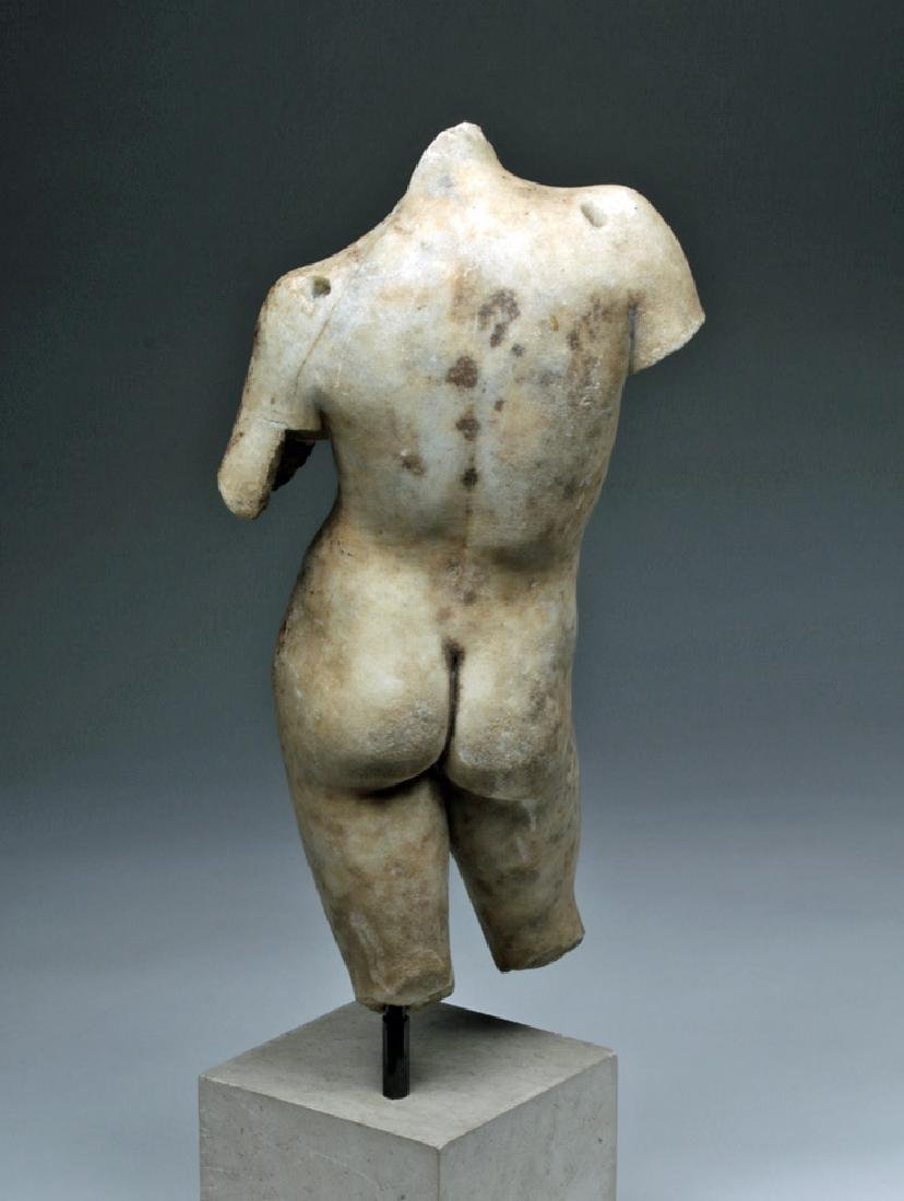 Superb Roman Marble of Nude Eros - 4