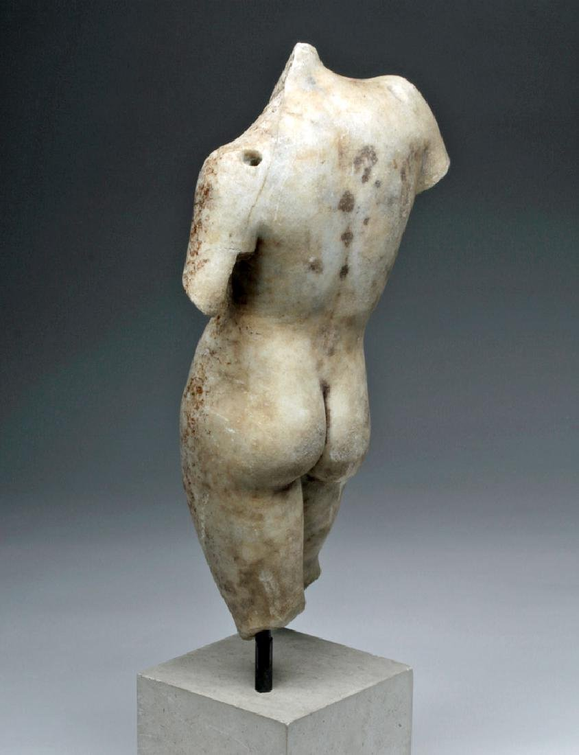 Superb Roman Marble of Nude Eros - 5