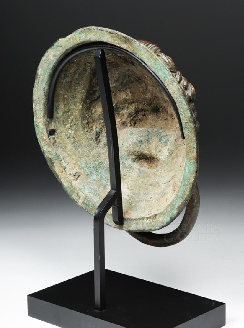 Roman / Byzantine Bronze Lion Knocker, ex-Sotheby's - 4
