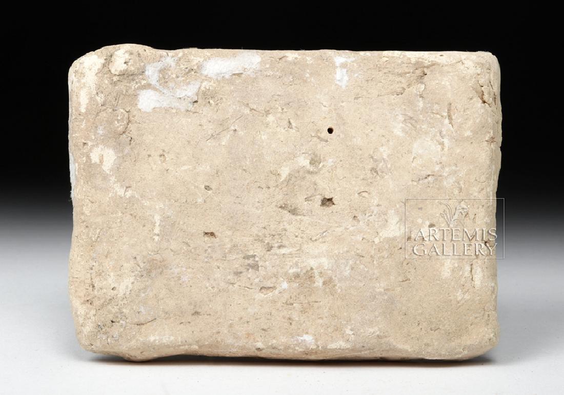 Babylonian Terracotta Plaque w/ Mushussu - TL - 4