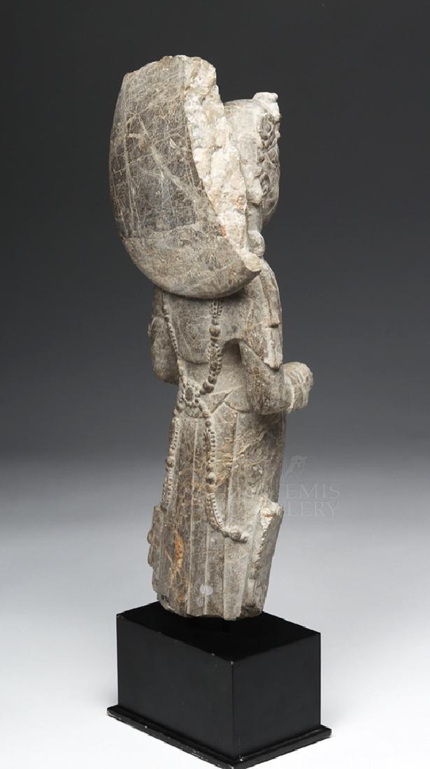 Chinese Wei / Qi Carved Stone Bodhisattva Guanyin - 4