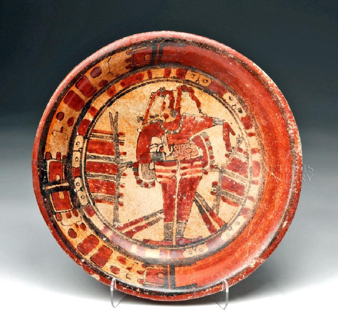 Wonderful Mayan Polychrome Plate