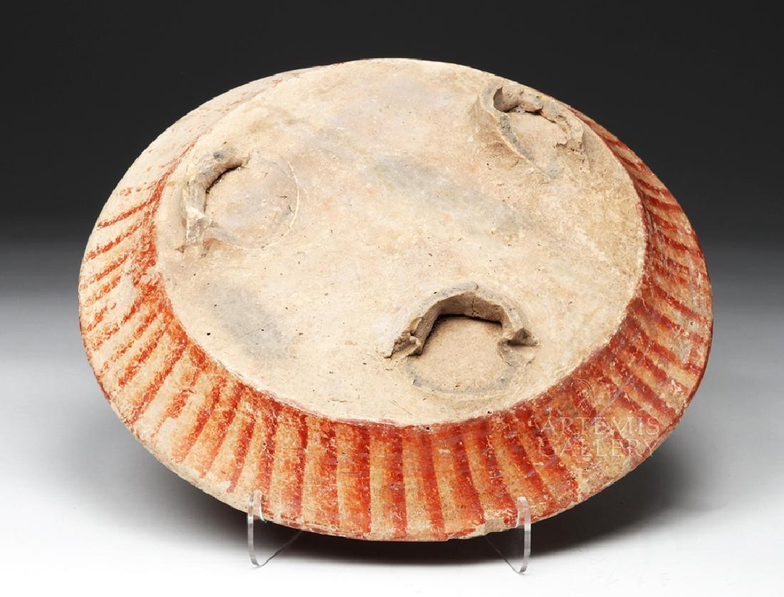 Wonderful Mayan Polychrome Plate - 2