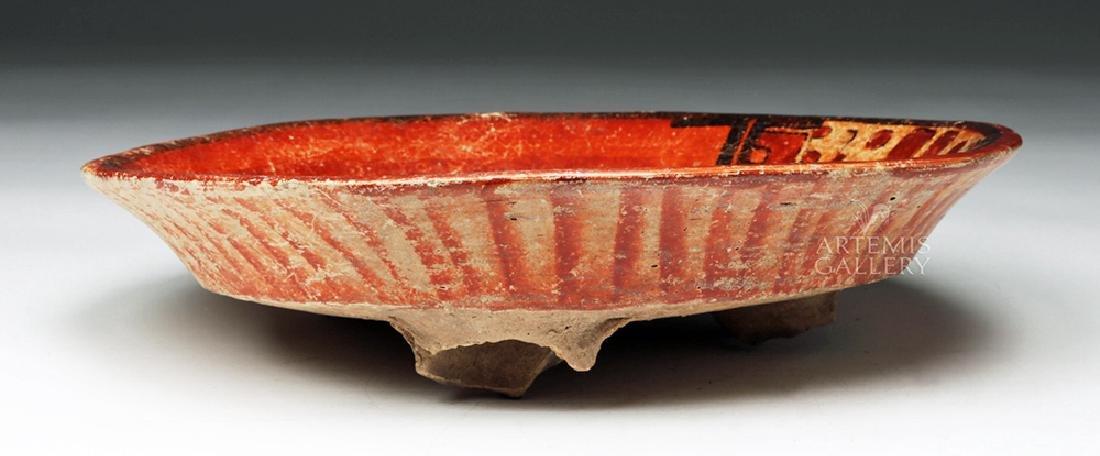 Wonderful Mayan Polychrome Plate - 3