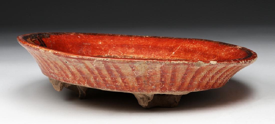 Wonderful Mayan Polychrome Plate - 6
