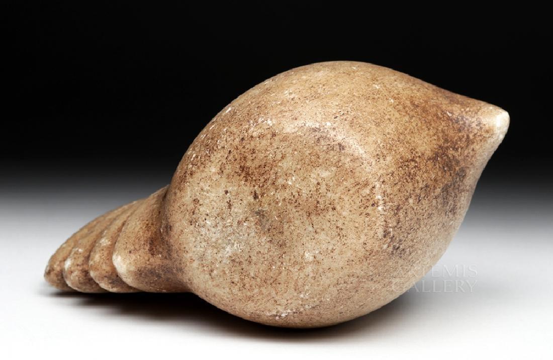 Large Incan Alabaster Canopa Votive - Camelid - 6