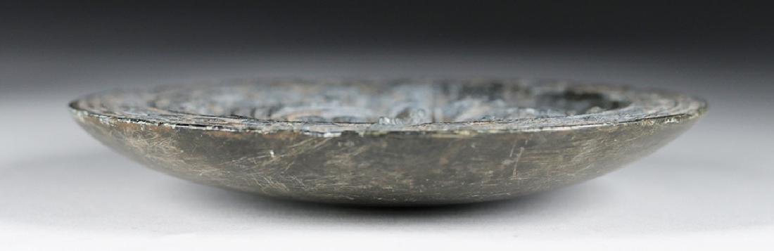 Fine Gandharan Grey Schist Stone Palette - 5
