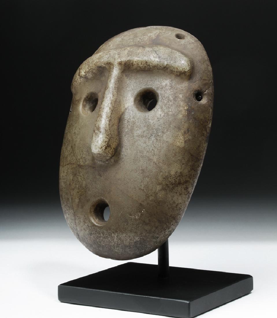 Mapuche Stone Maskette - Astonished Expression - 2