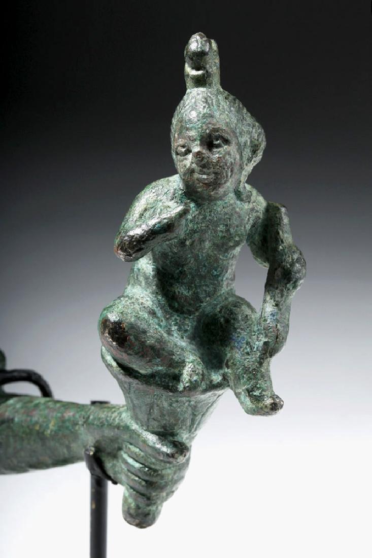 Romano-Egyptian Bronze Harpocrates