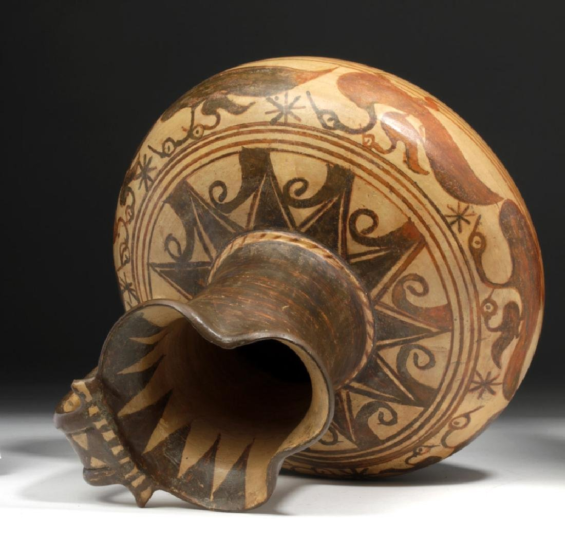 Rare Etruscan Trefoil Oinochoe - Birds - 5