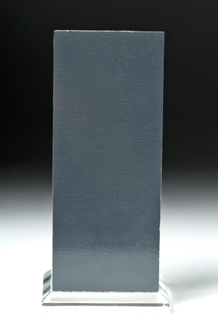 7th C. Byzantine Bronze Enkolpion Reliquary Cross - 4