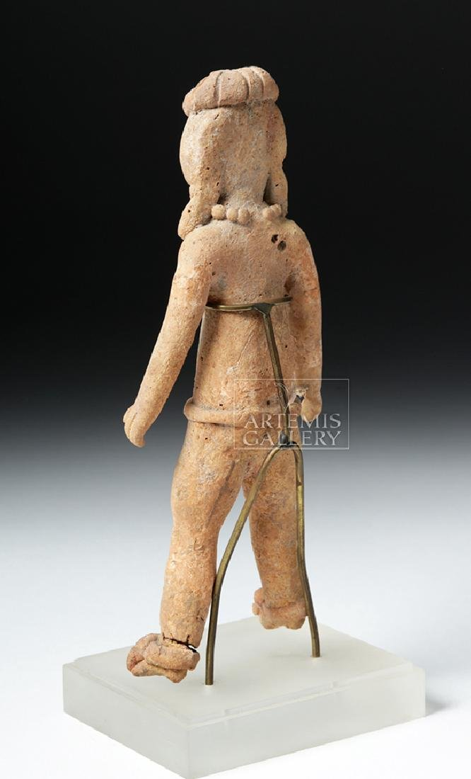 Rare & Early Xochipala Pottery Male Ball Player - 3