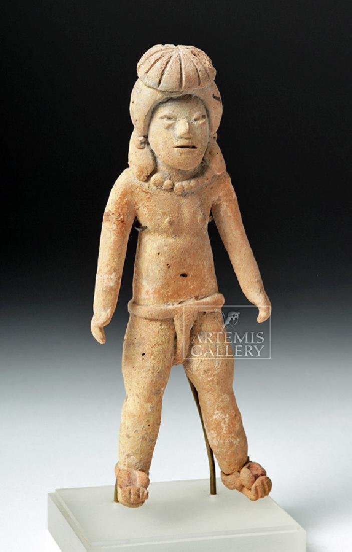 Rare & Early Xochipala Pottery Male Ball Player - 5