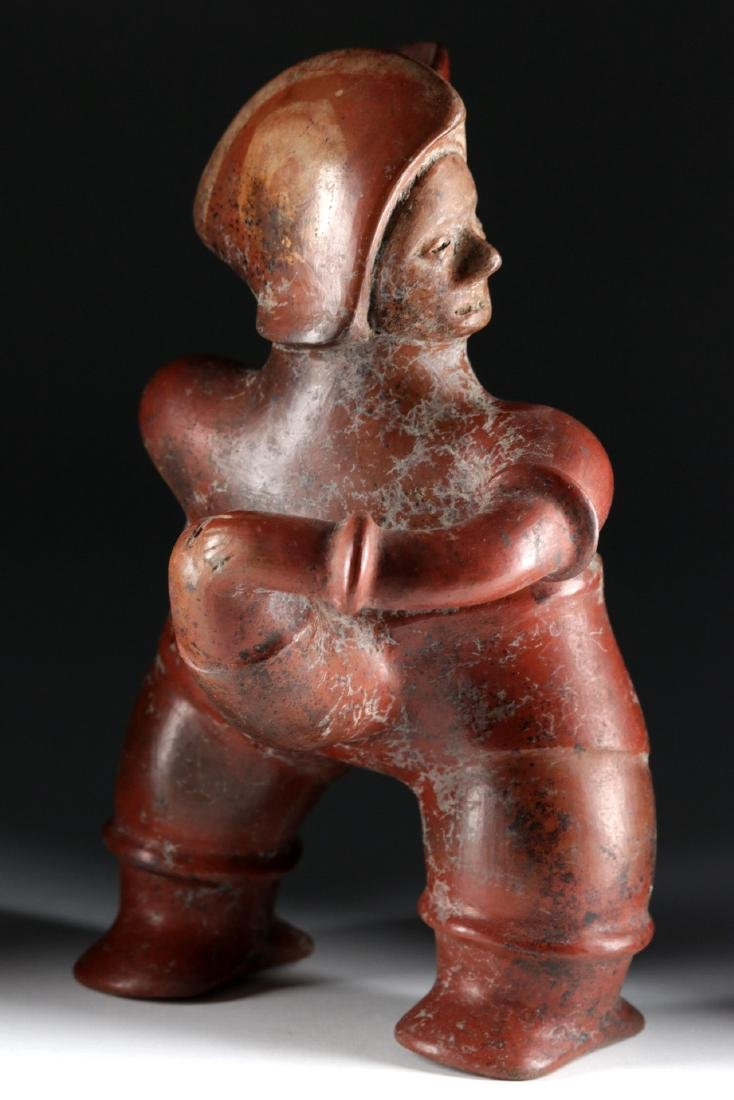 Colima Redware Erotic Figural Vessel - Well Endowed!