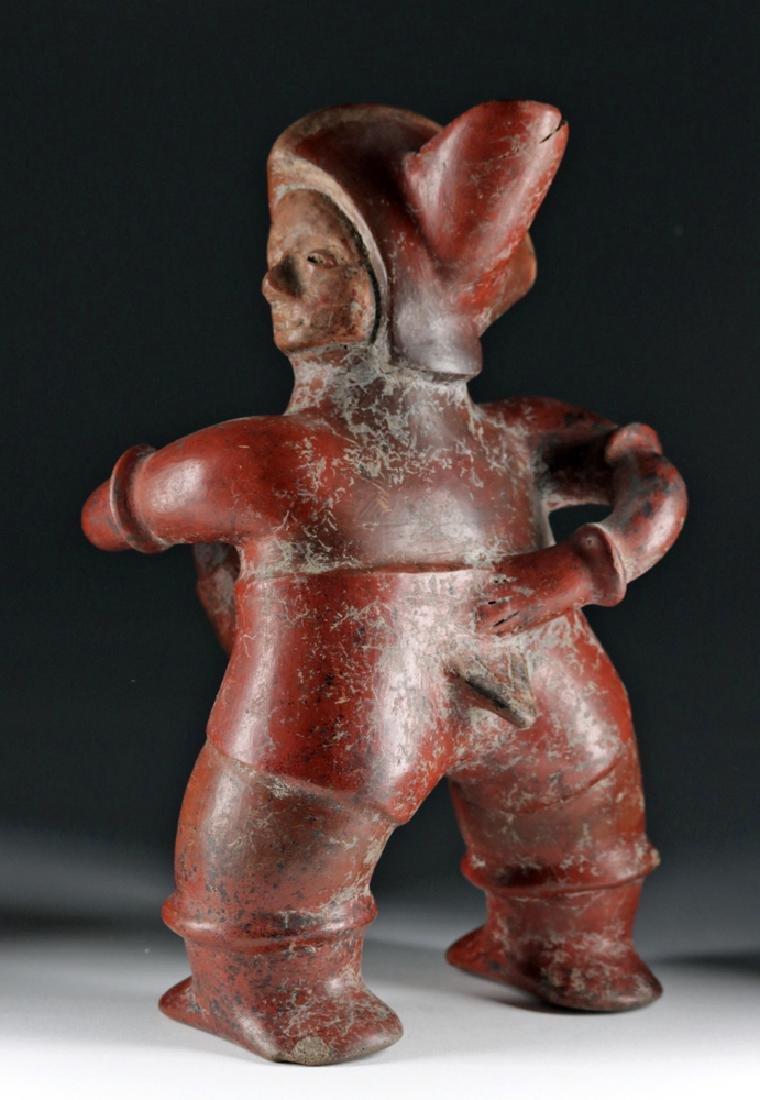 Colima Redware Erotic Figural Vessel - Well Endowed! - 5