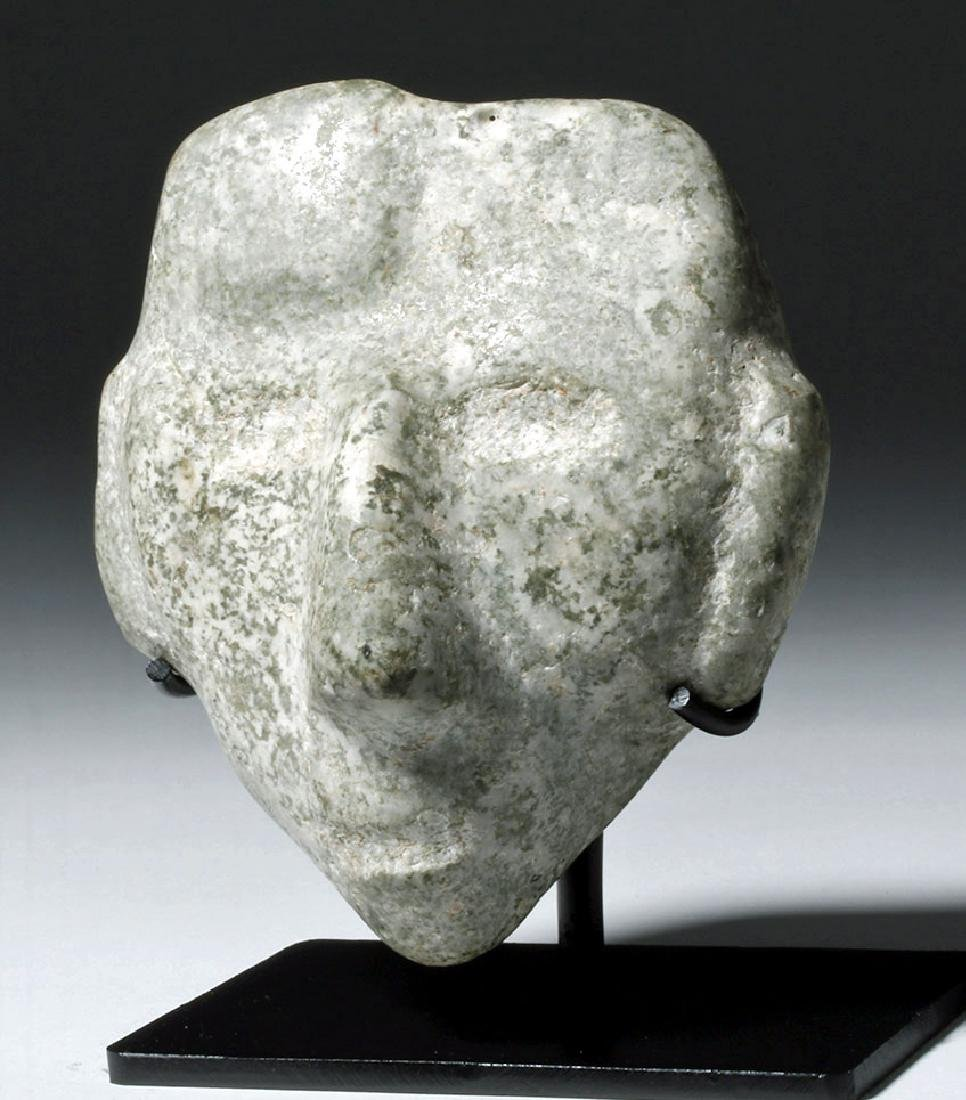 Guerrero Chontal Greenstone Mask