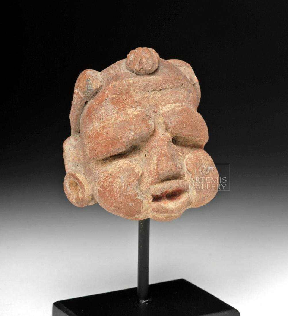 Early Mayan Terracotta Head