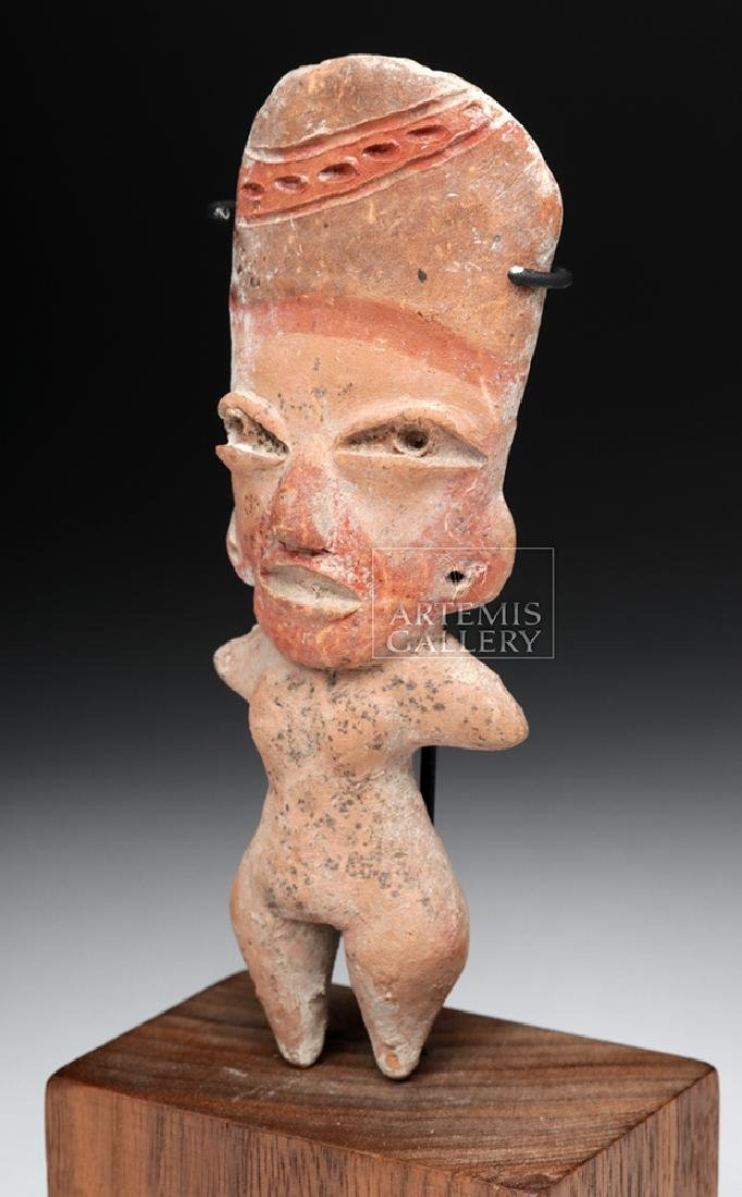 West Mexican Tlatilco Pottery Pretty Lady Figure - 2