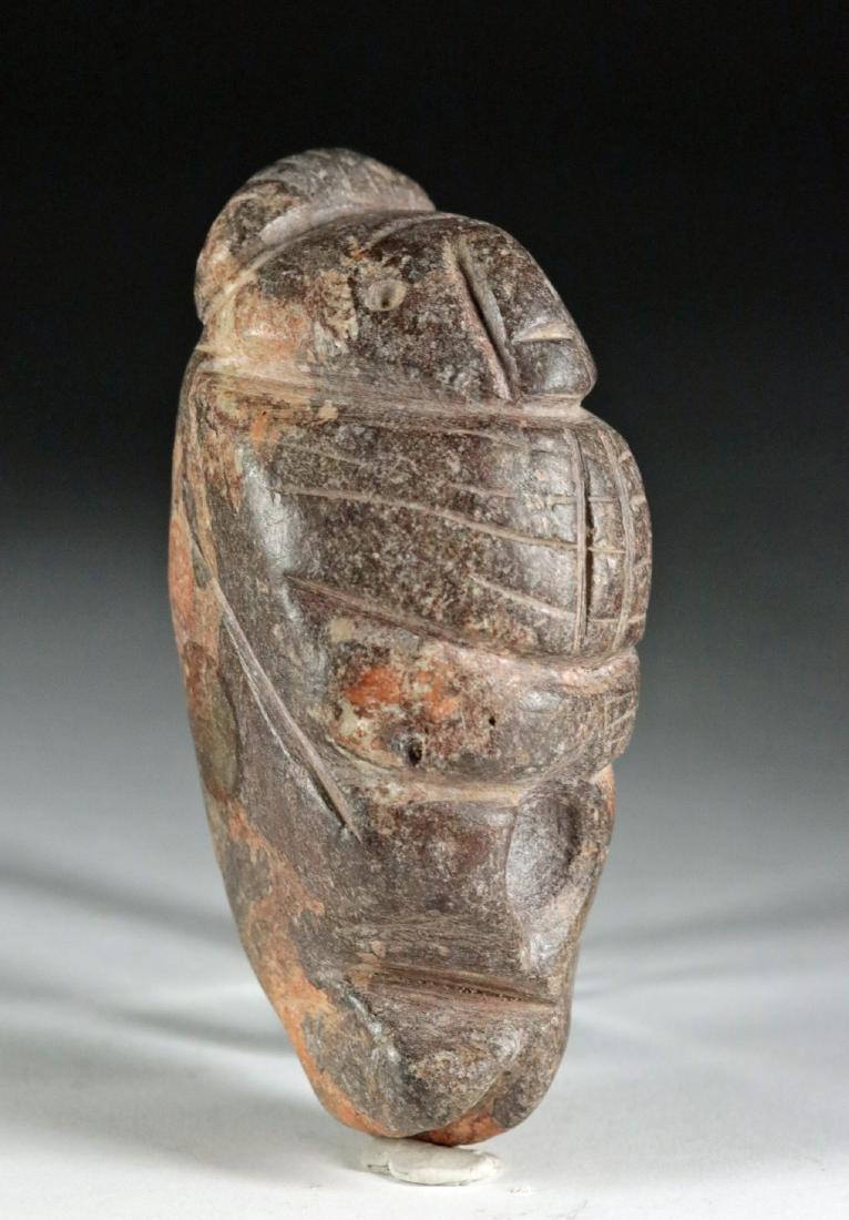 Rare Colima Stone Figural Double Tool