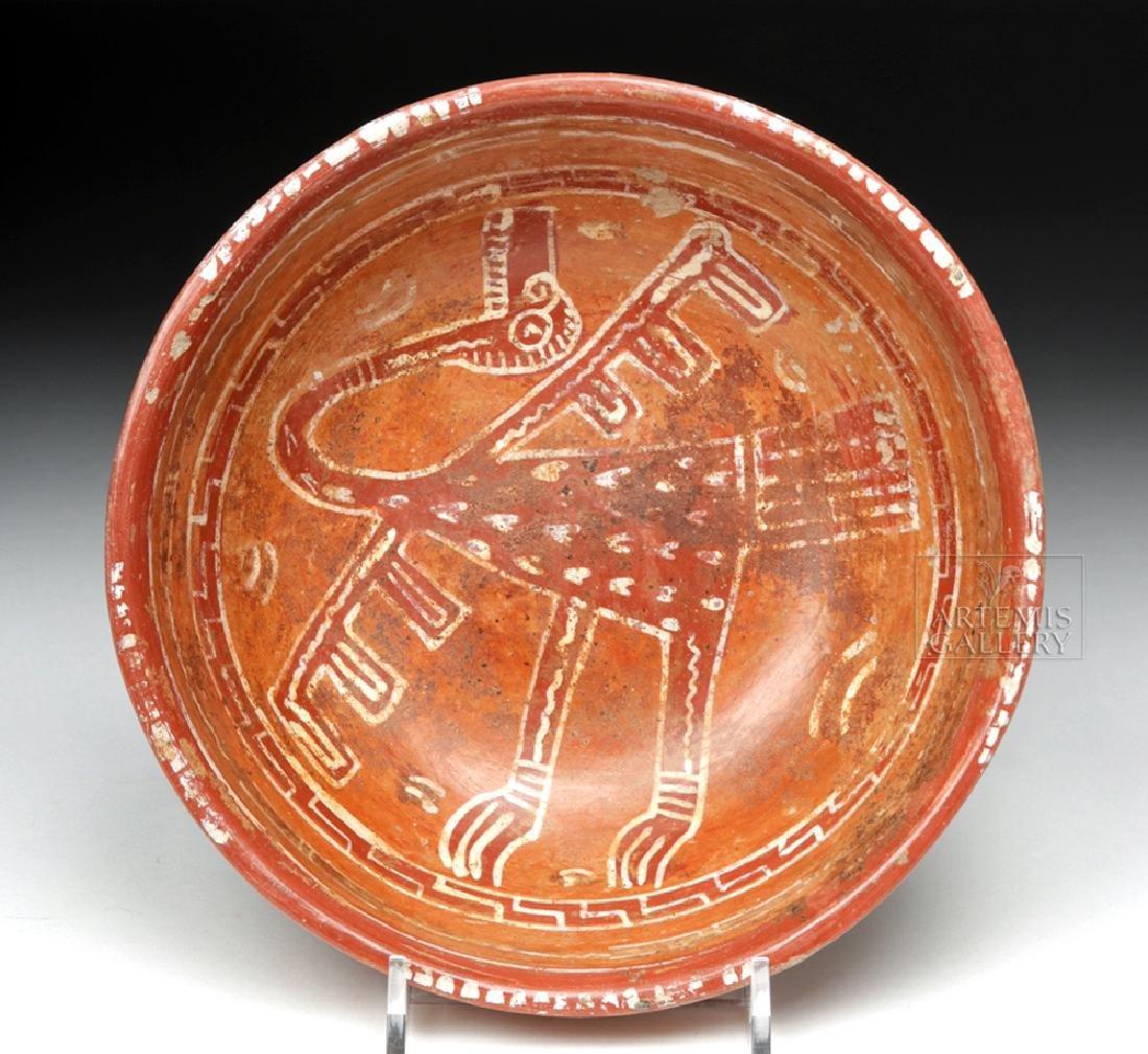 Lovely Mixtec Aztatlan Polychrome Bowl