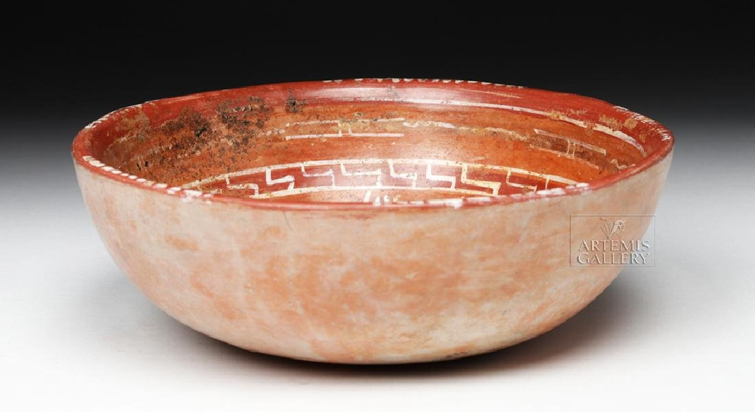 Lovely Mixtec Aztatlan Polychrome Bowl - 3