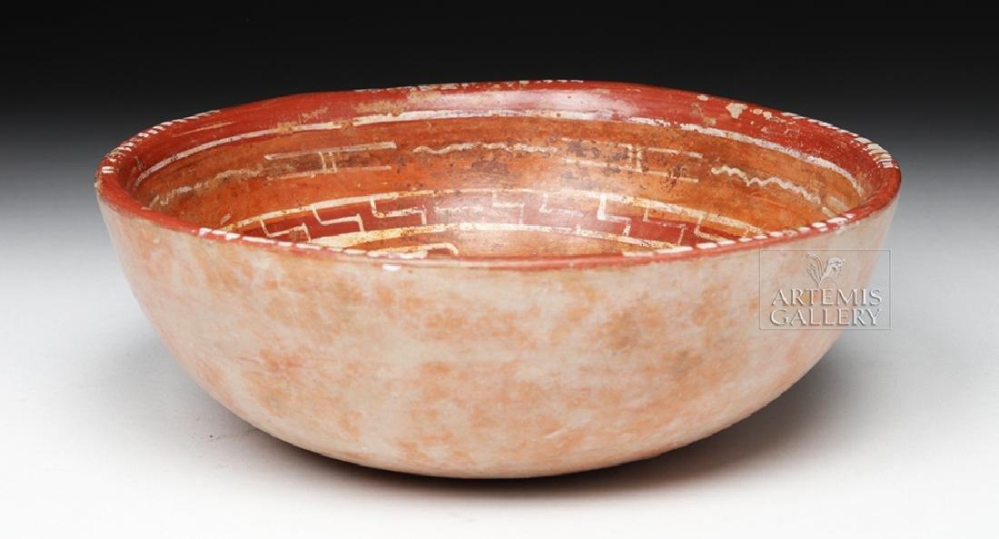 Lovely Mixtec Aztatlan Polychrome Bowl - 4
