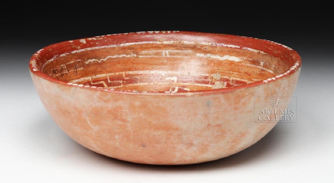 Lovely Mixtec Aztatlan Polychrome Bowl - 5