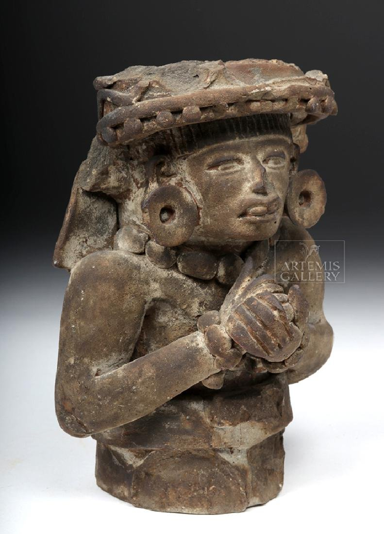 Teotihuacan Pottery Figural Incensario w/ TL