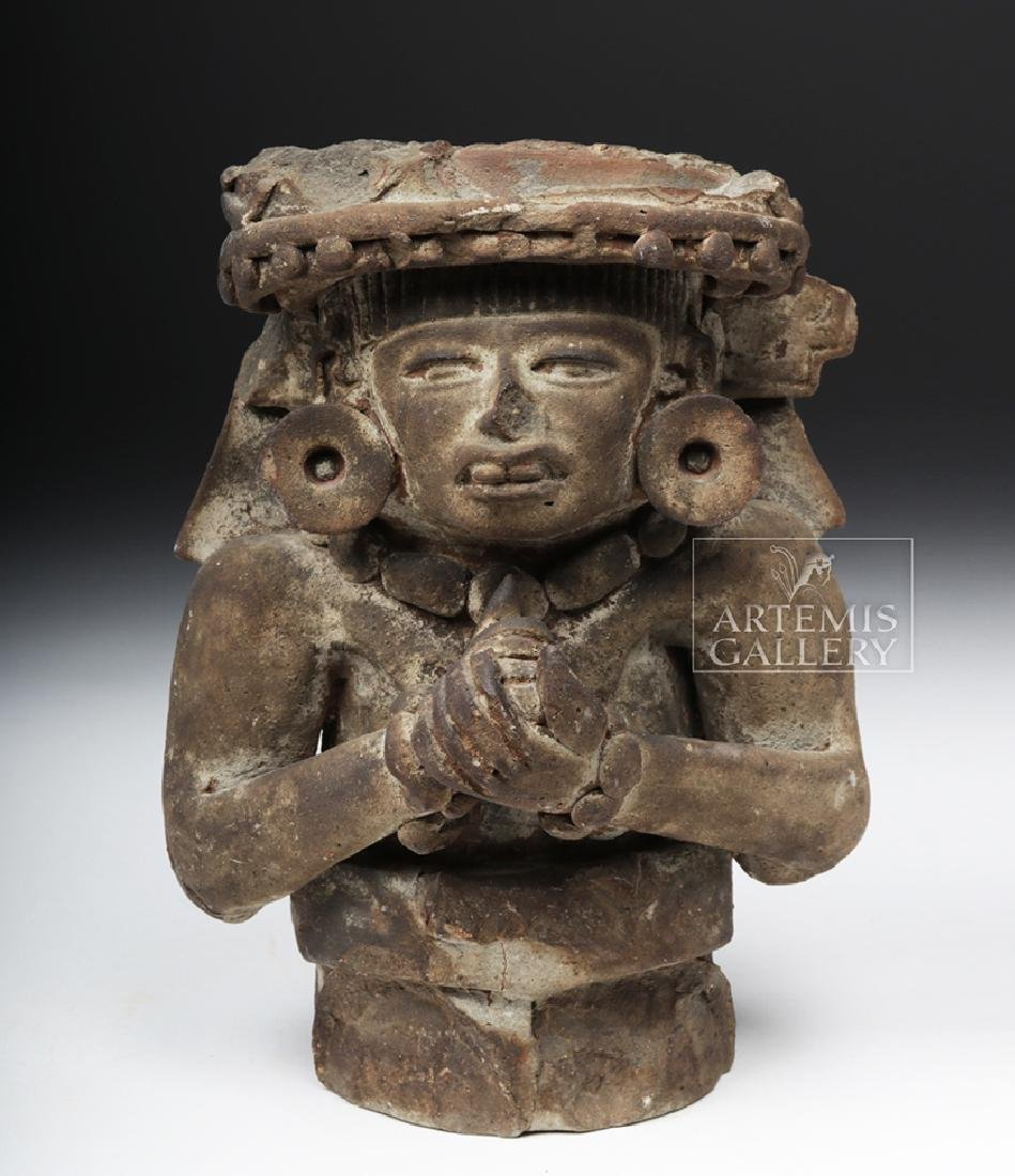 Teotihuacan Pottery Figural Incensario w/ TL - 2