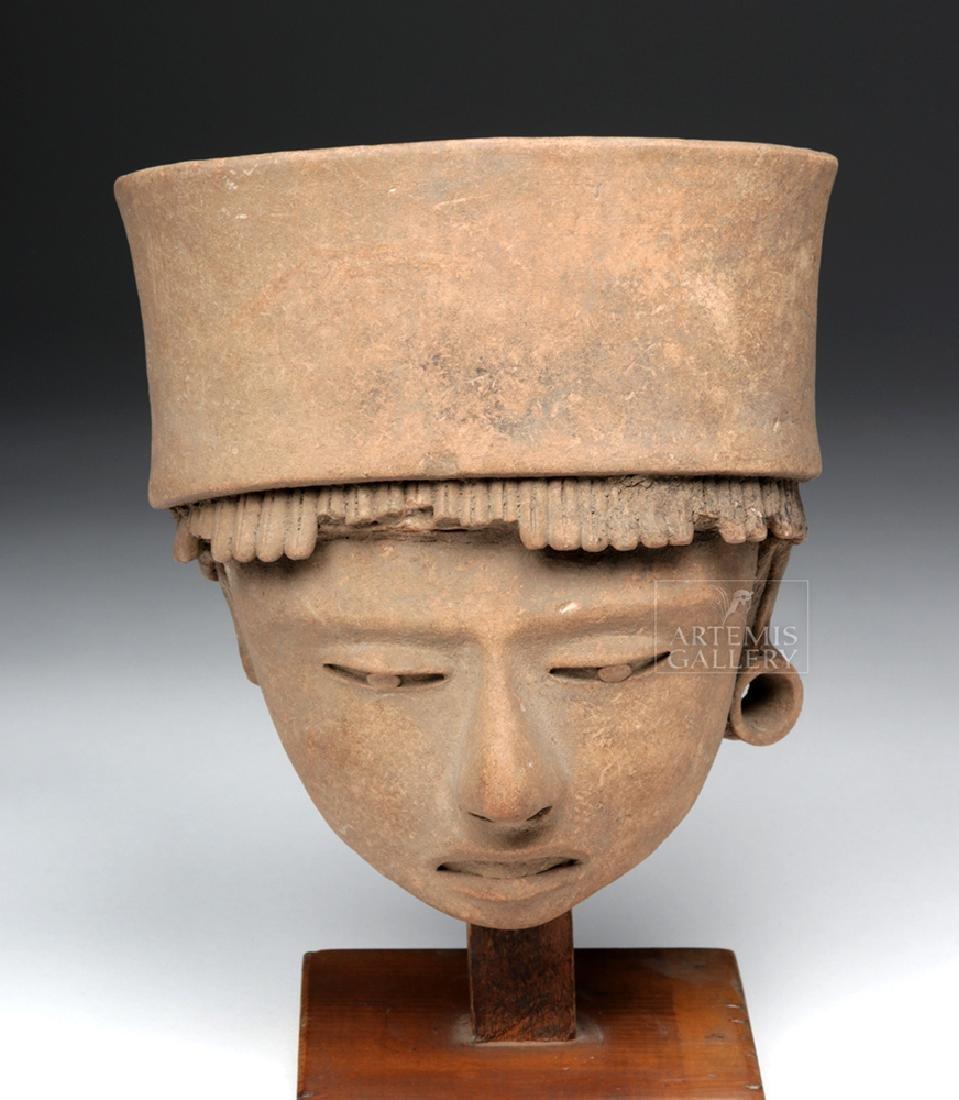 Large / Very Fine Veracruz Terracotta Head