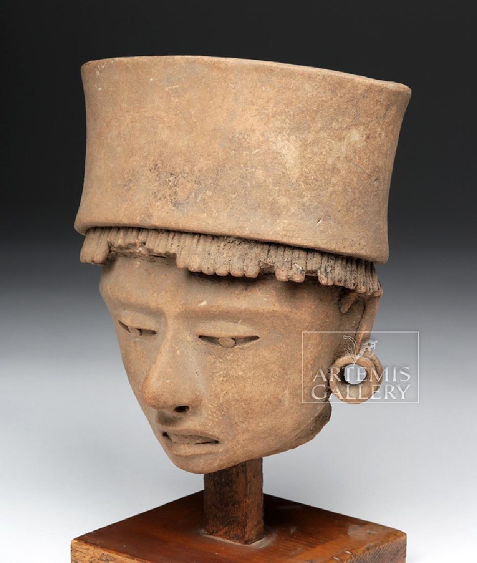 Large / Very Fine Veracruz Terracotta Head - 2