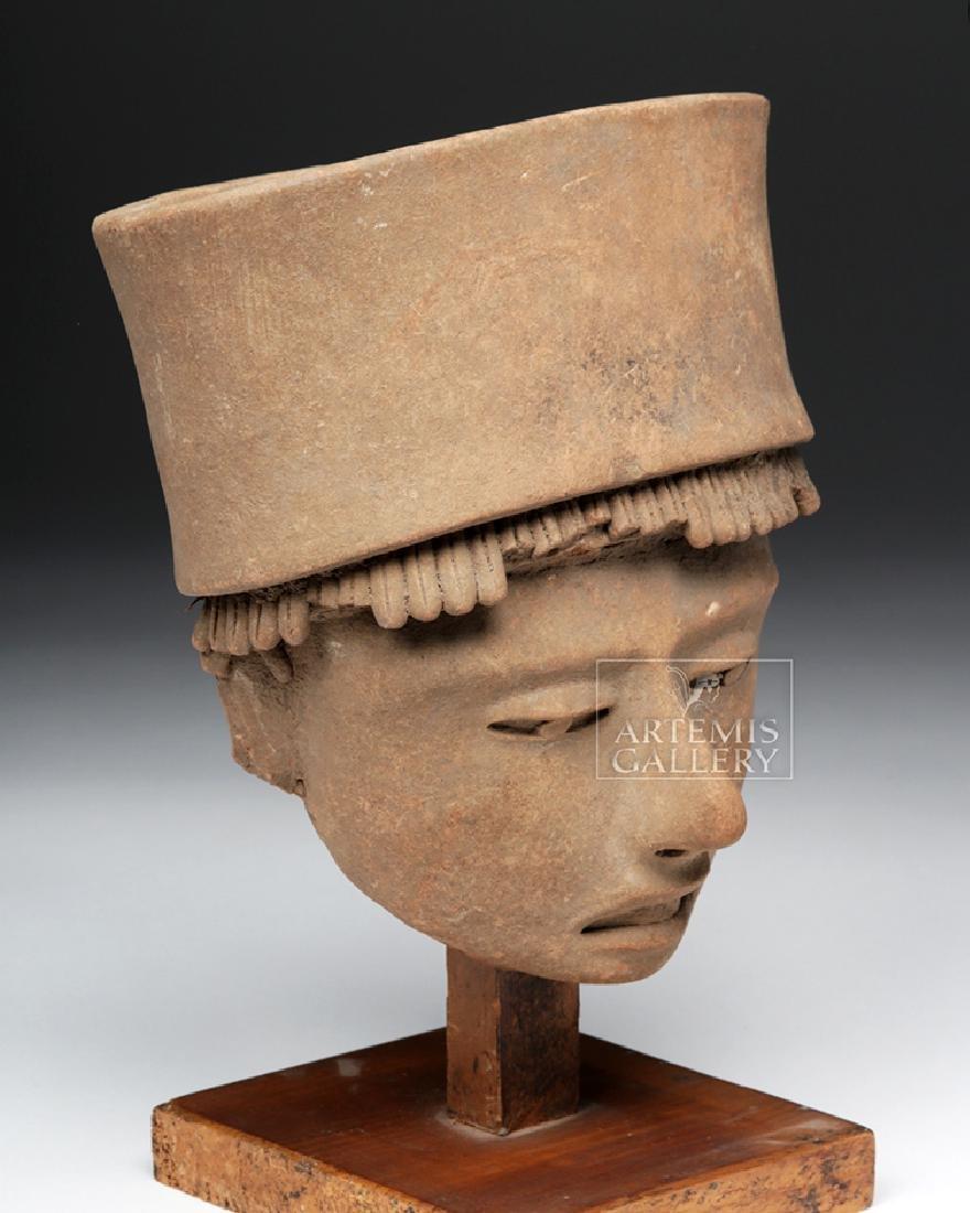 Large / Very Fine Veracruz Terracotta Head - 3