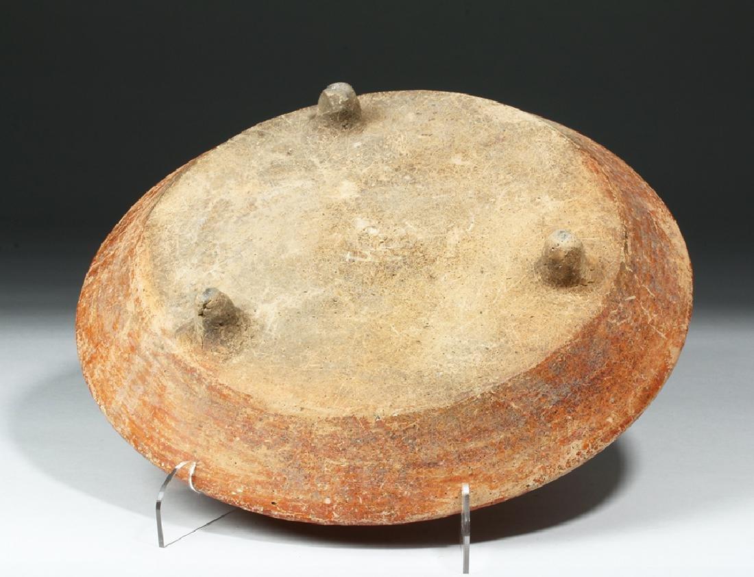 Mayan Polychrome Tripod Plate, ex-Arte Primitivo - 2