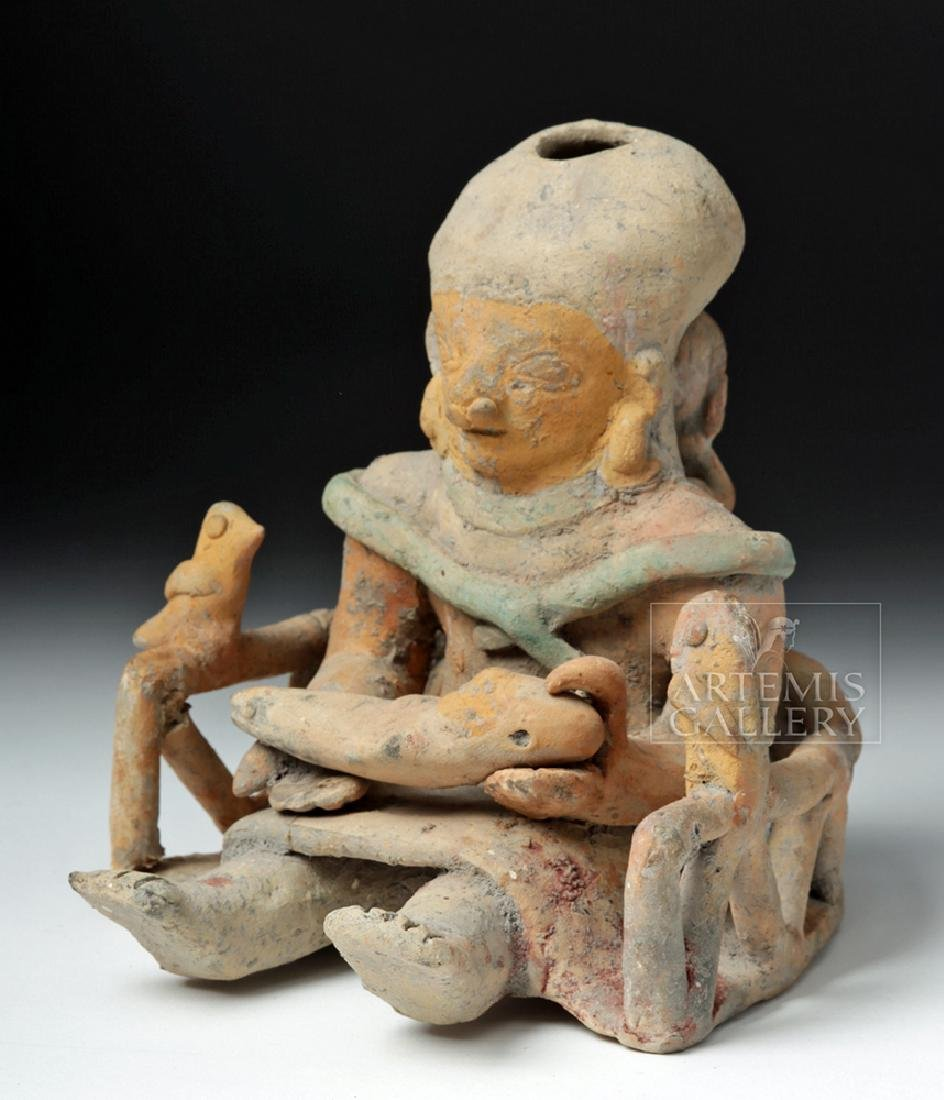 Jamacoaque Polychrome Maternal Effigy - Mother, Child