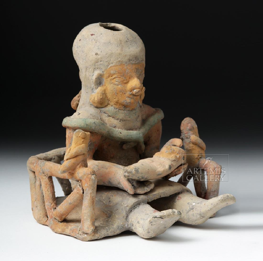 Jamacoaque Polychrome Maternal Effigy - Mother, Child - 5