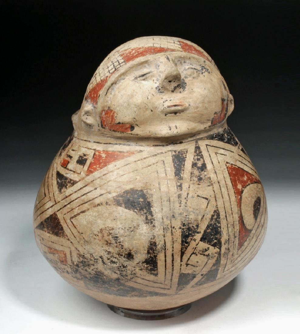 Casas Grandes Ramos Polychrome Pottery Effigy Vessel
