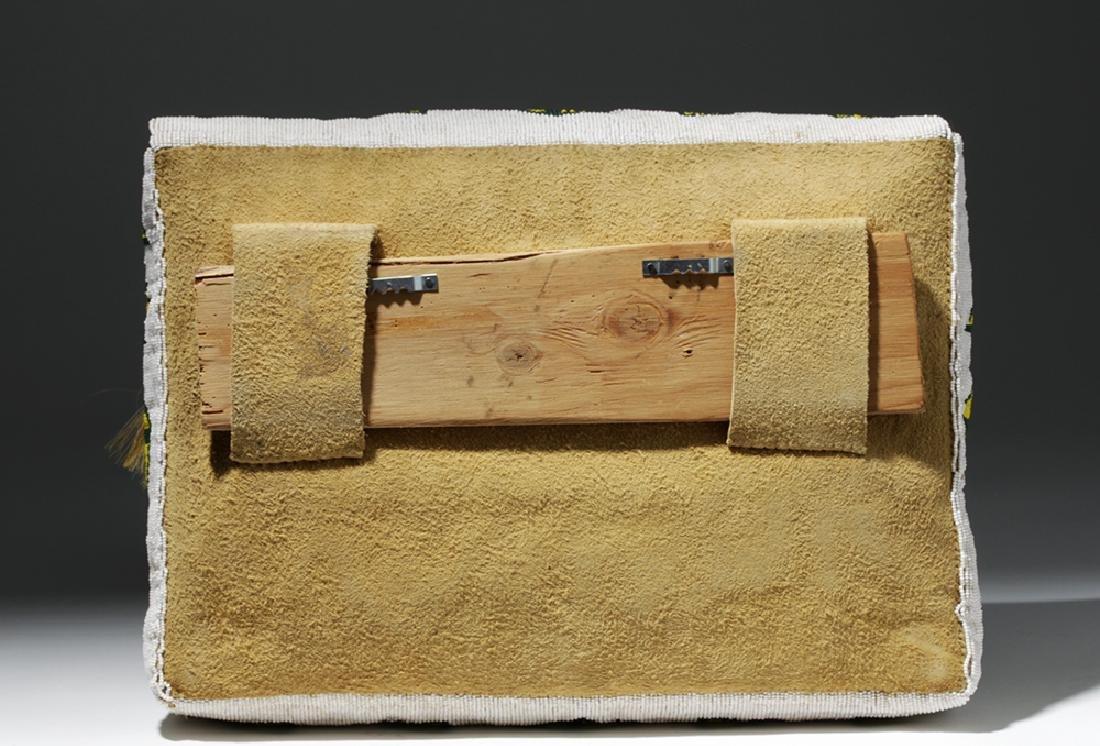 Mid-20th C. Native American Plains Indian Bead Satchel - 3