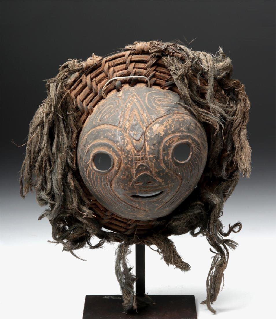 20th C. Papua New Guinea Coconut & Hair Mask