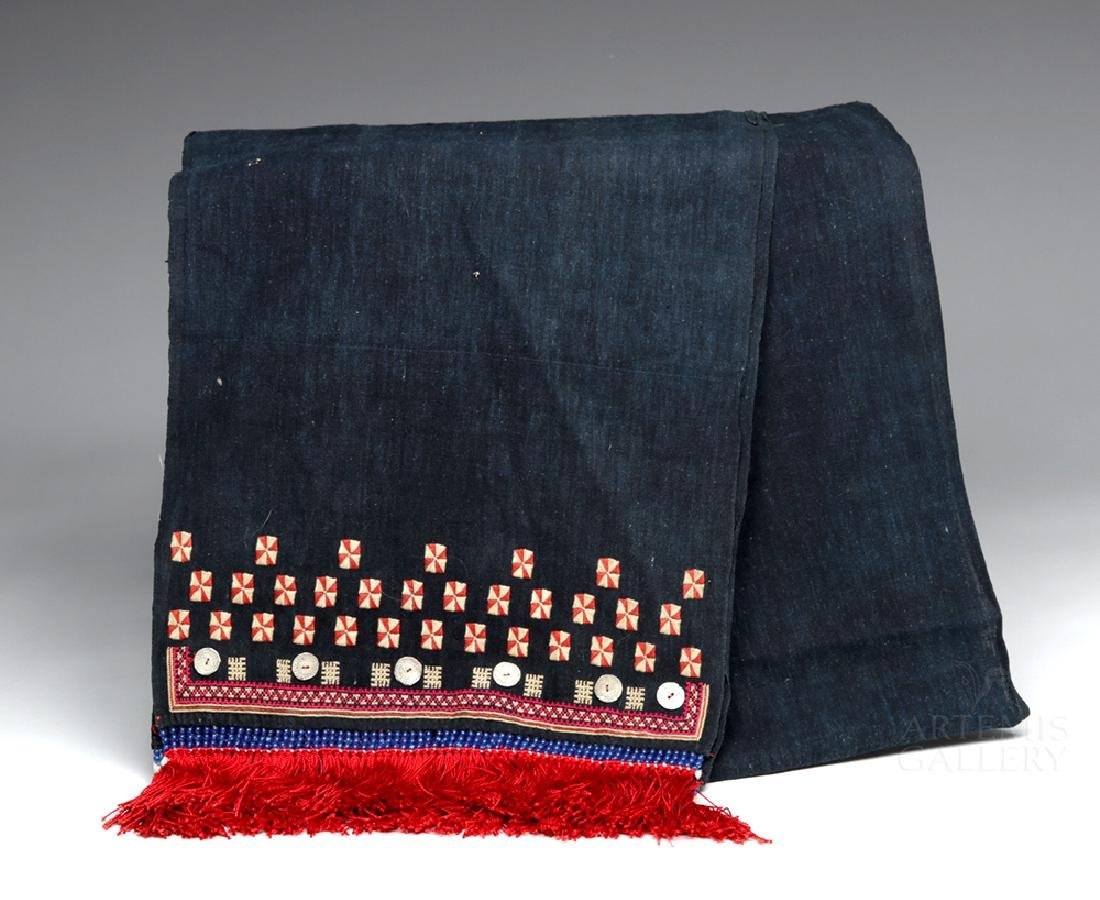 19th C. Mexican Woven Rebozo - Ex Historia Antiques
